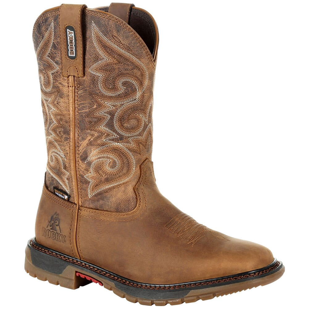 Image for Rocky Original Women's Ride FLX WP Western Boots - Golden Rod from elliottsboots