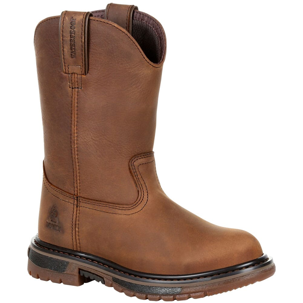 Image for Rocky Big Kid's Original Ride FLX WP Western Boots - Brown from bootbay