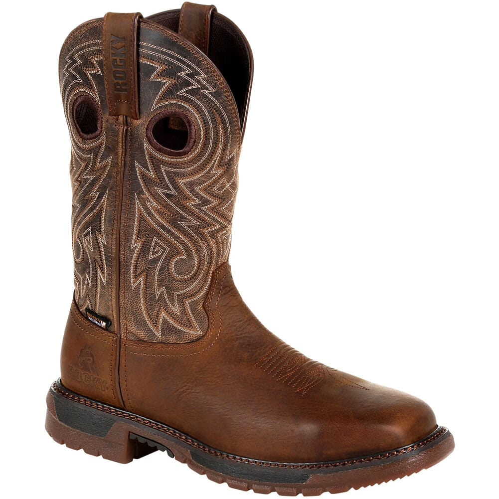 Image for Rocky Original Ride Men's FLX WP Safety Boots - Brown from bootbay