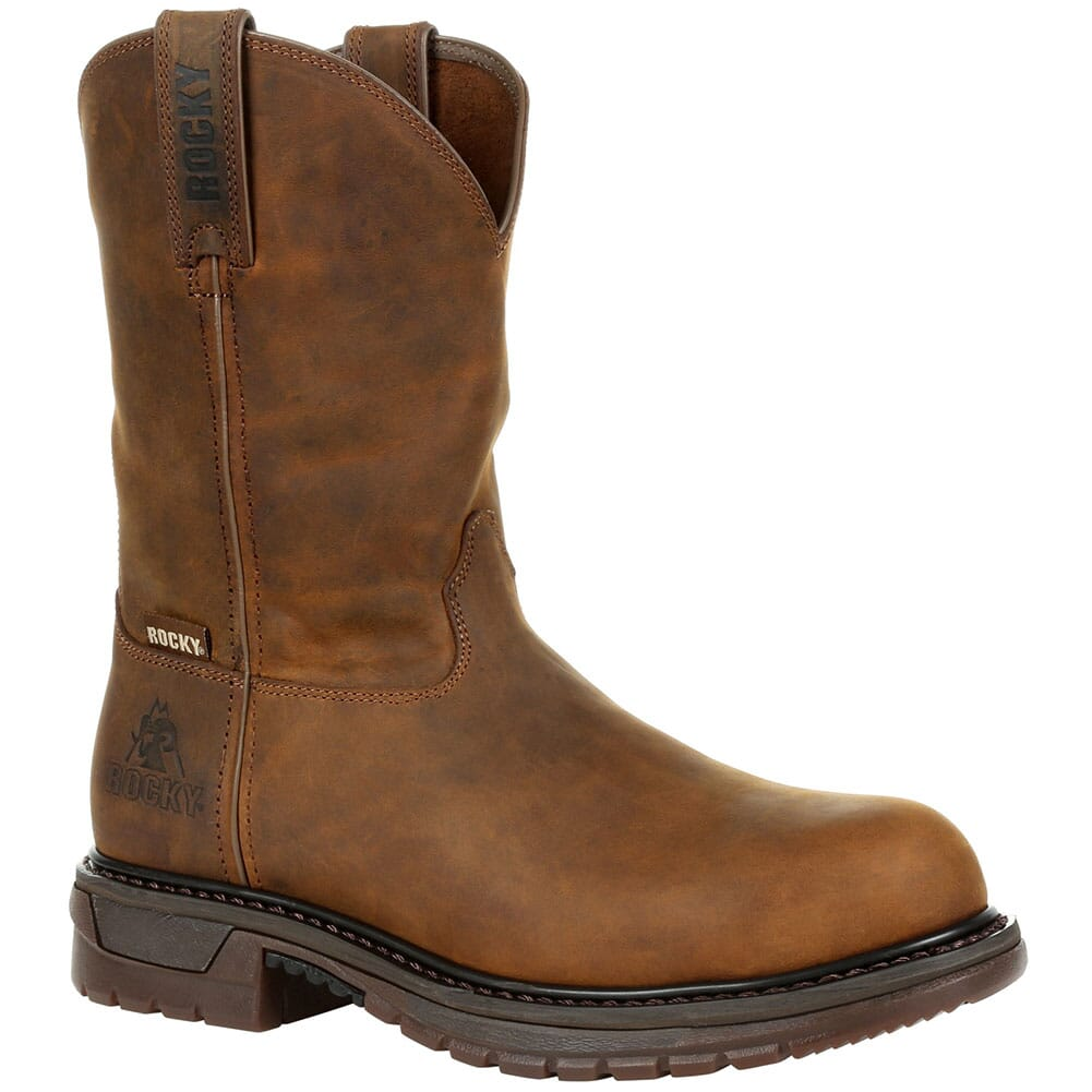 Image for Rocky Men's Rocky Original Ride Safety Boots - Brown from bootbay