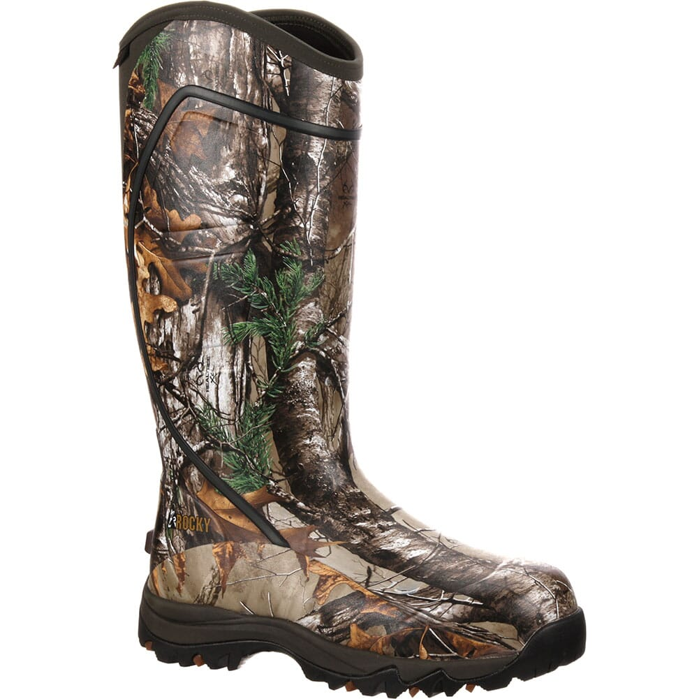 Image for Rocky Core Men's Rubber WP Outdoor Boots - Realtree Xtra from bootbay