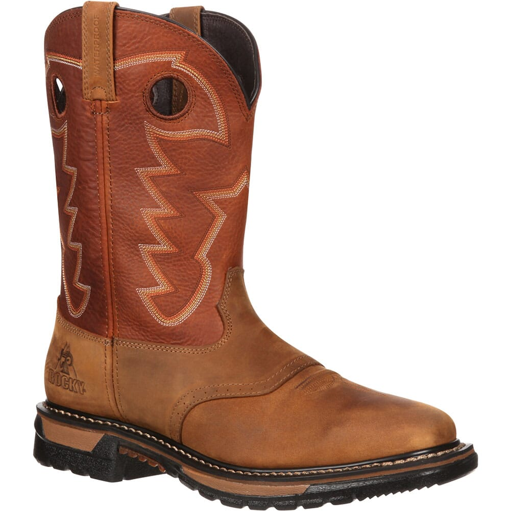 Image for Rocky Men's Original Ride WP Western Boots - Tan/Ochre from bootbay