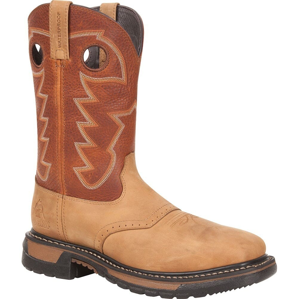 Image for Rocky Men's Original Ride WP Western Boots - Bridle Brown from bootbay
