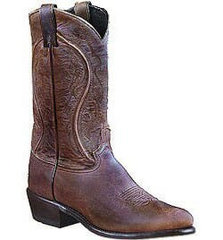 Image for Sage Men's Cowhide Western Boots - Brown from bootbay