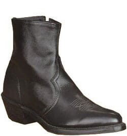 Image for Sage Men's Side Zip Casual Boots - Black from bootbay