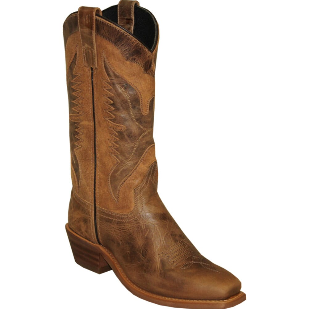 Image for Sage Women's Leather Western Boots - Brown from bootbay