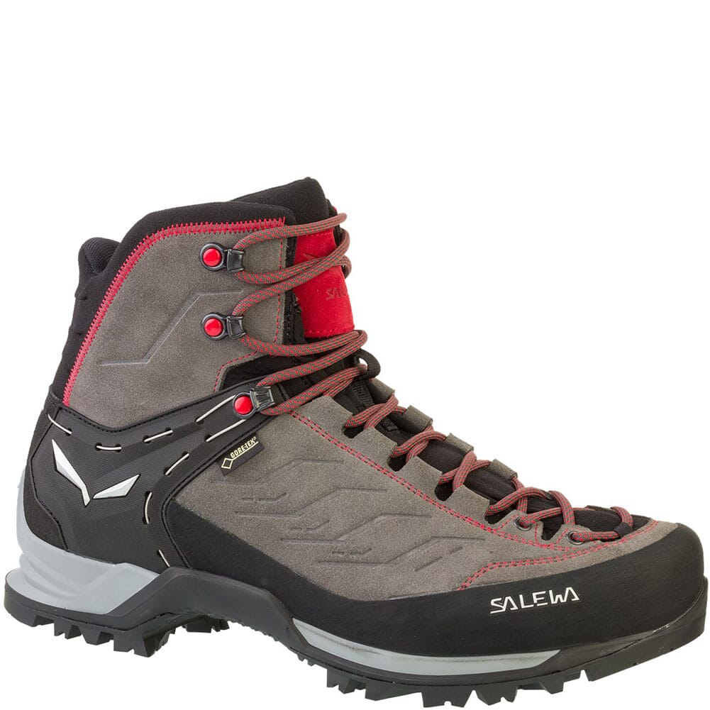 Image for Salewa Men's Mountain Trainer Mid GTX Hiking Boots - Charcoal/Papave from bootbay