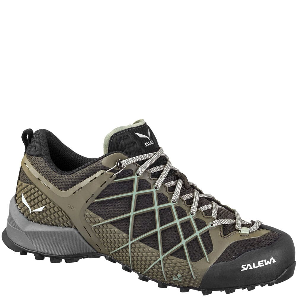 Image for Salewa Men's Wildfire Hiking Shoes - Black Olive/Siberia from bootbay