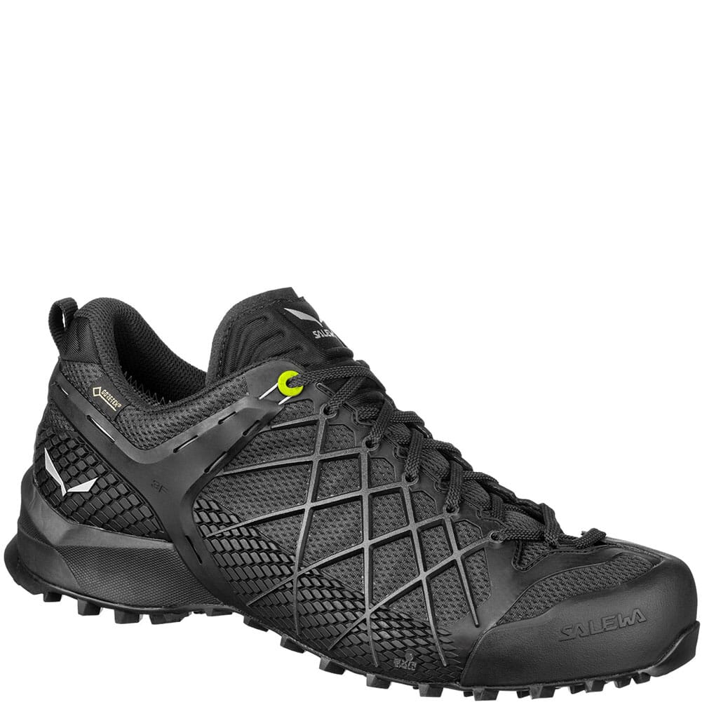 Image for Salewa Men's Wildfire GTX Hiking Shoes - Black Out/Silver from bootbay