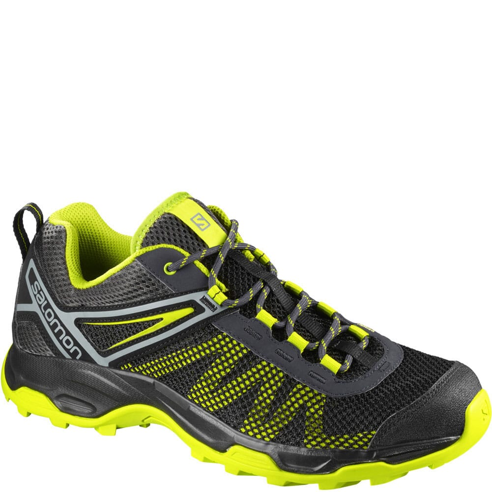 Image for Salomon Men's Ellipse Mehari Hiking Shoes - Night Sky/Acid Lime from bootbay