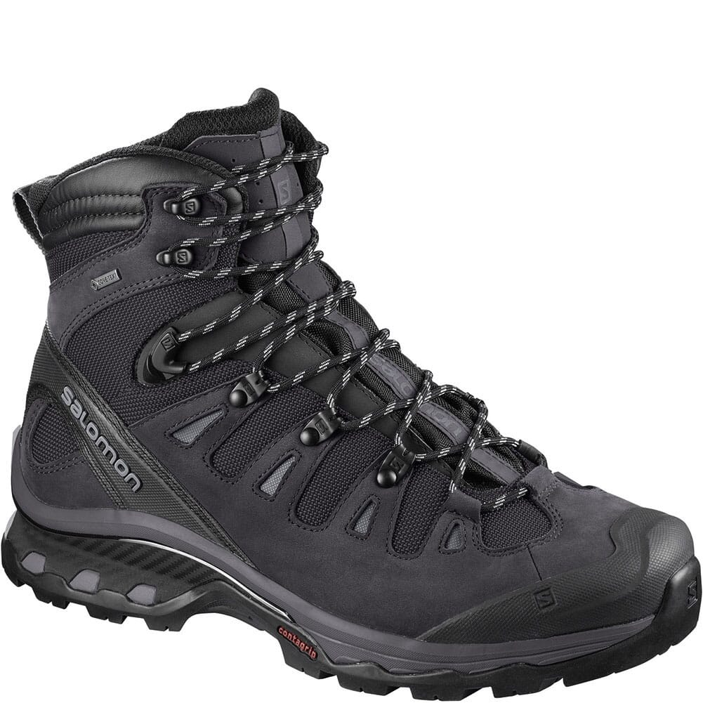 Image for Solomon Men's Quest 4D 3 GTX Hiking Boots - Black from bootbay