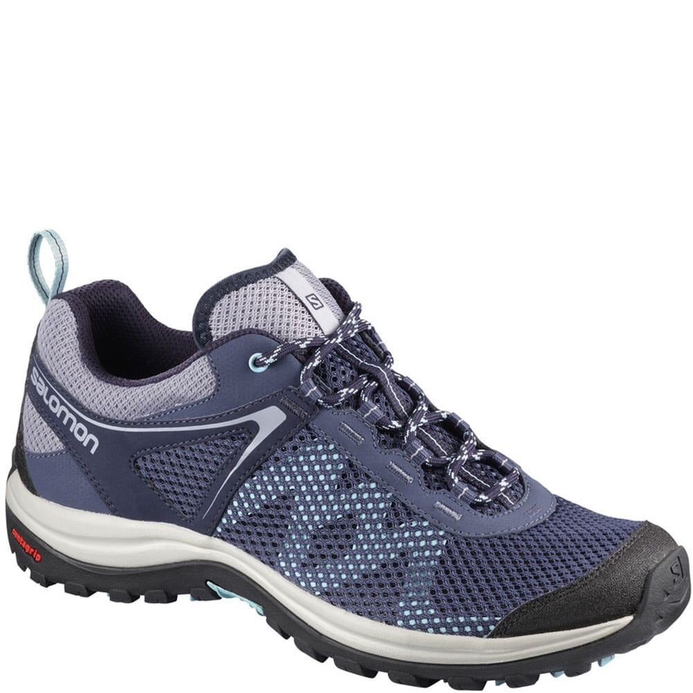Image for Salomon Women's Ellipse Mehari Hiking Shoes - Crown Blue from elliottsboots