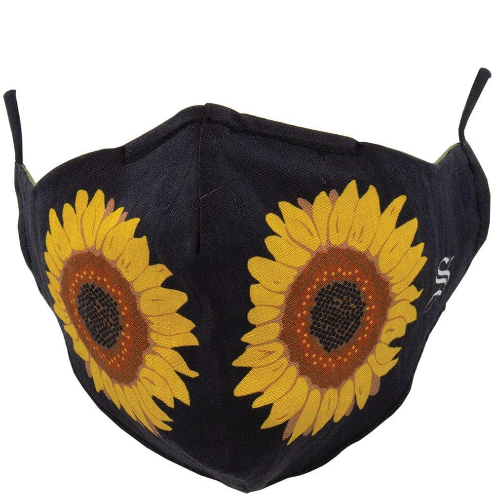 Image for Socksmith Unisex Sunflower Face Mask - Black from bootbay