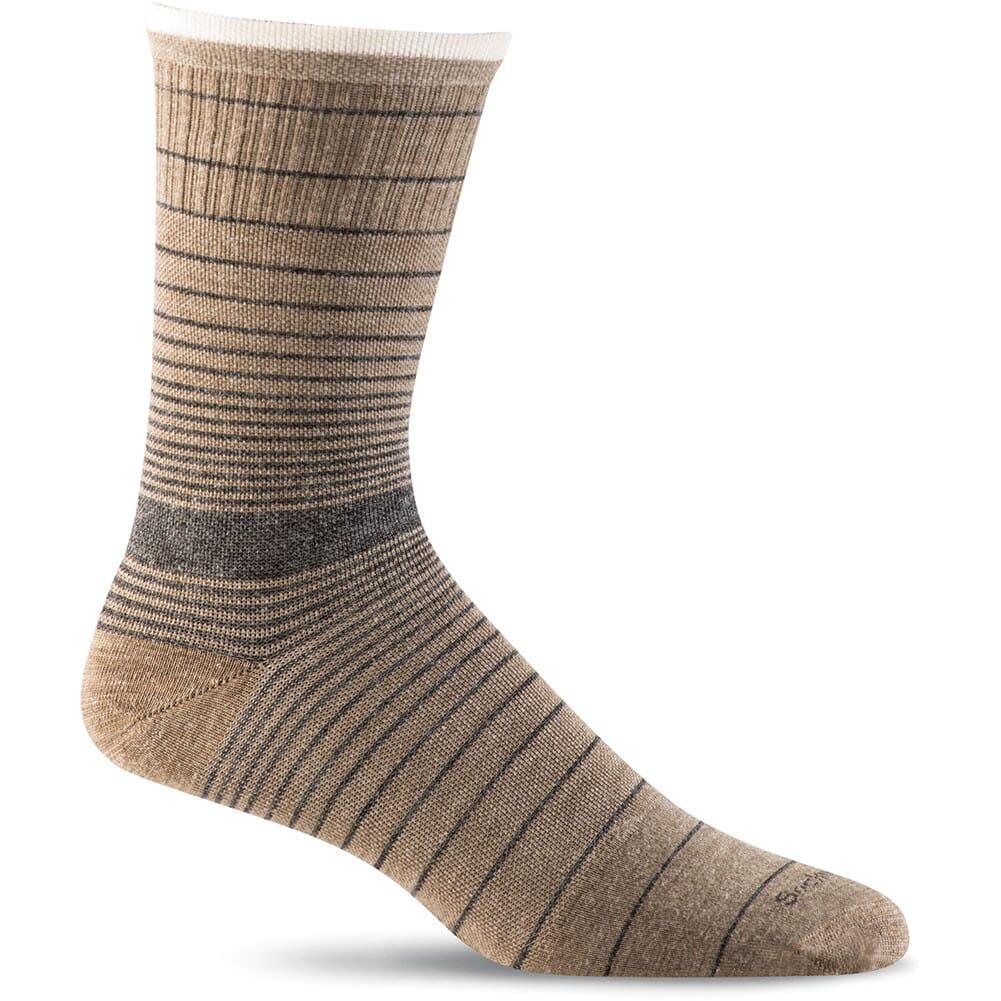Image for Sockwell Men's Plantar Ease Crew Socks - Khaki from bootbay
