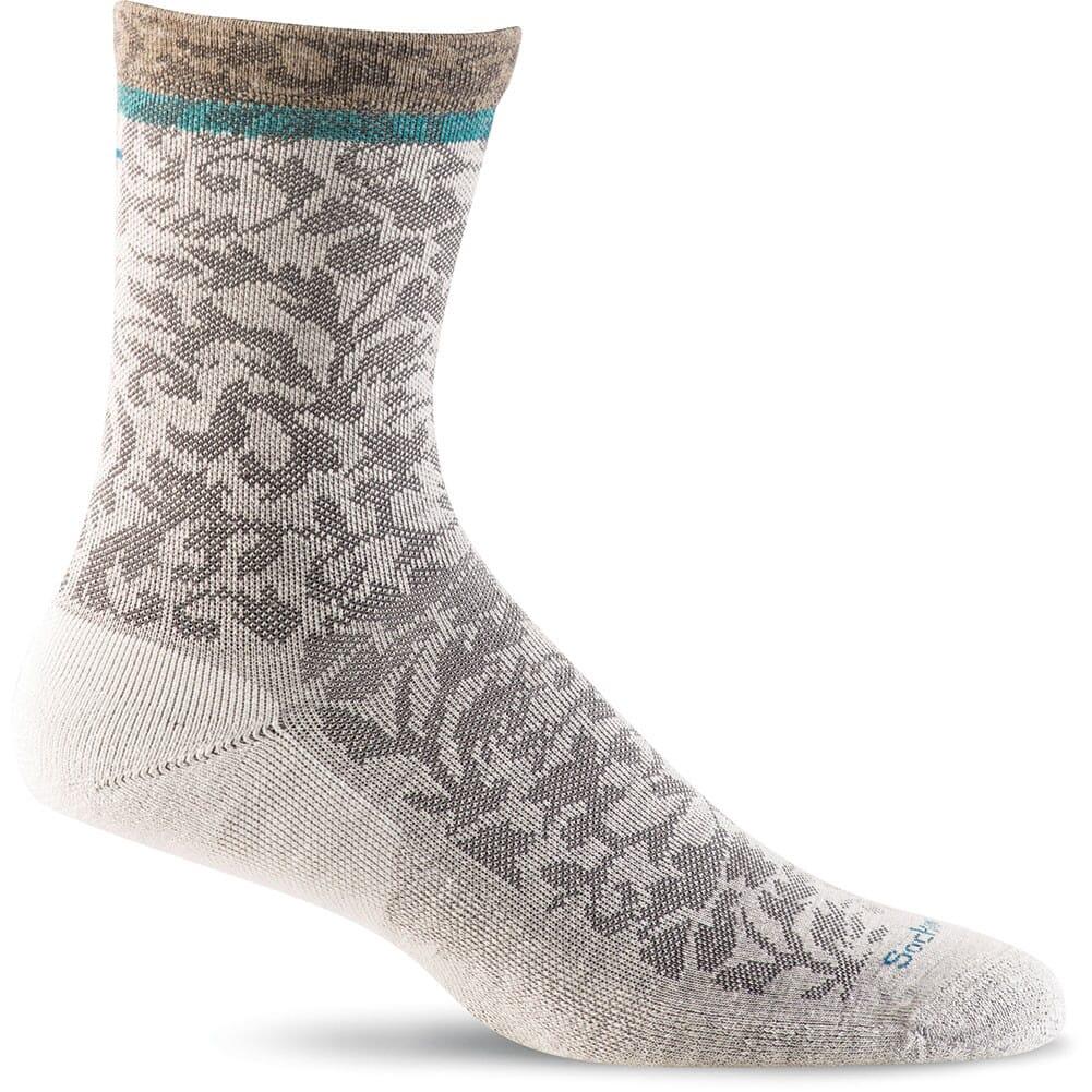 Image for Sockwell Women's Plantar Crush Crew Socks - Natural from bootbay