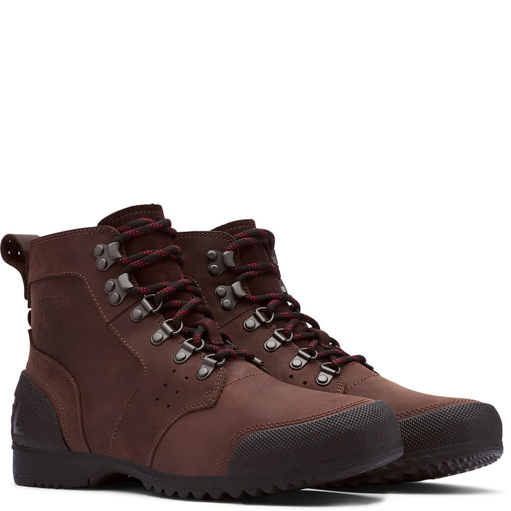 Image for Sorel Men's Ankeny Mid Casual Boots - Cattail/Black from bootbay