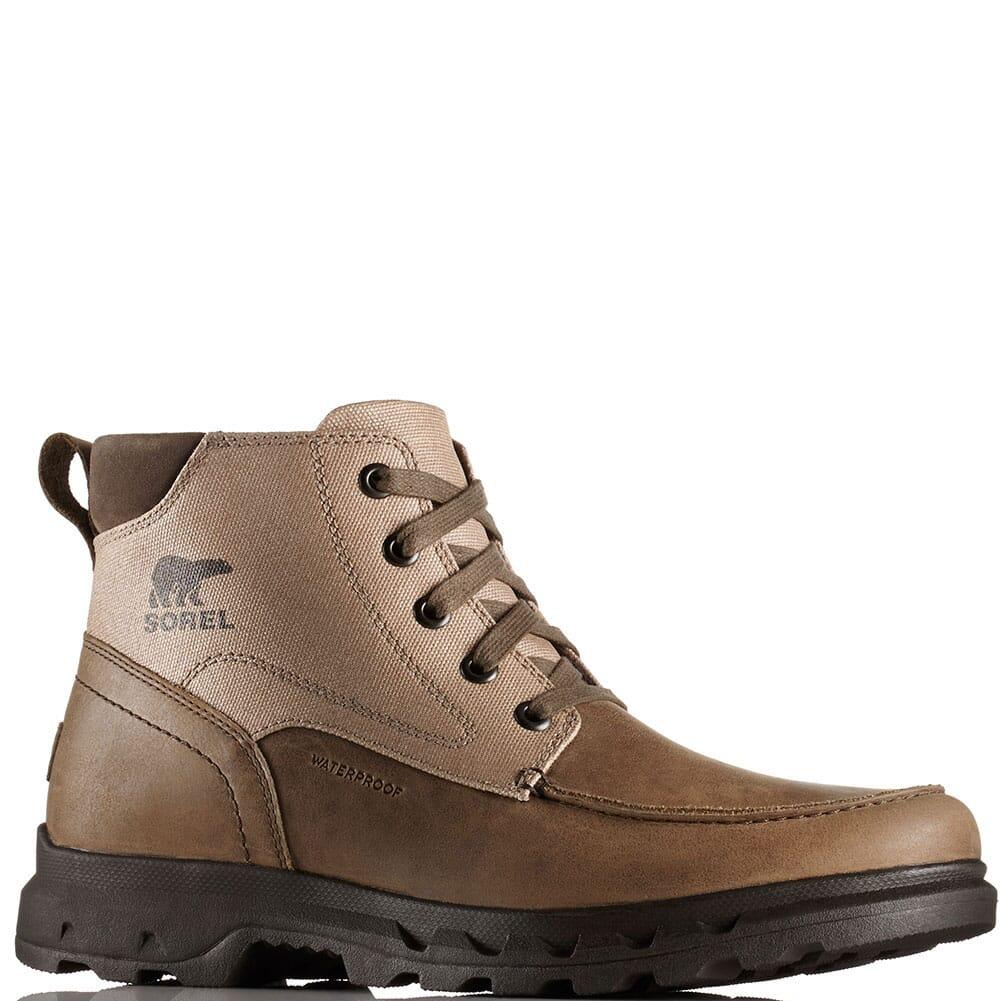 Image for Sorel Men's Portzman Moc Toe Casual Boots - Major/Black from bootbay