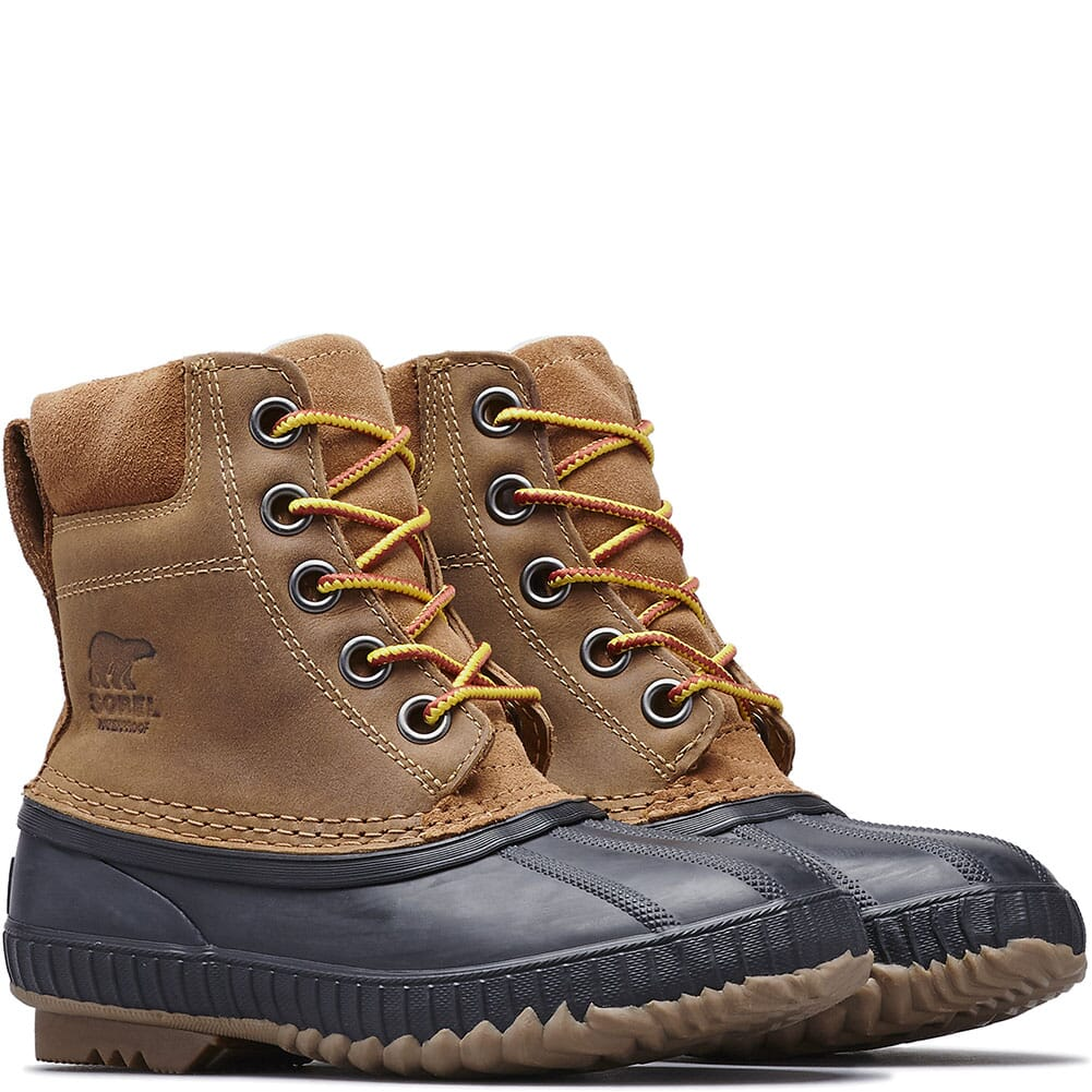 Image for Sorel Kid's Cheyanne II Lace Pac Boots - Elk/Black from bootbay
