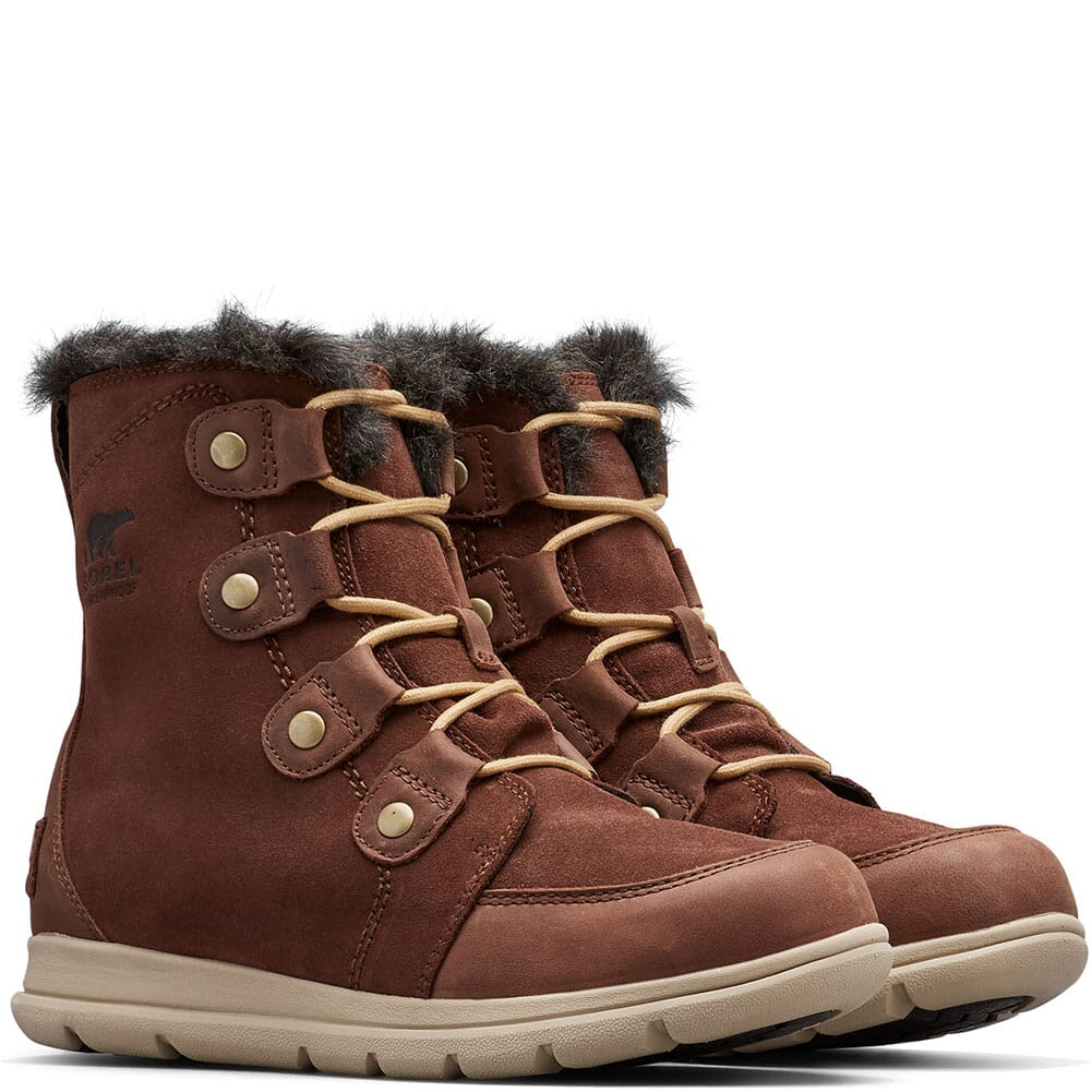 Image for Sorel Women's Explorer Joan Pac Boots - Burro from bootbay