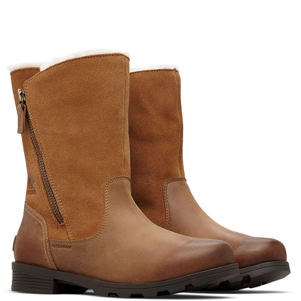 Image for Sorel Women's Emelie Foldover Casual Boots - Camel Brown from bootbay