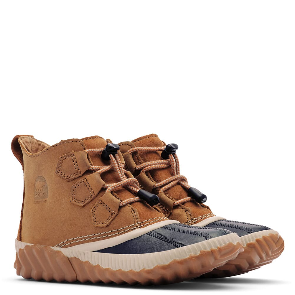 Image for Sorel Kids Out N About Plus Pac Boots - Elk/Black from bootbay