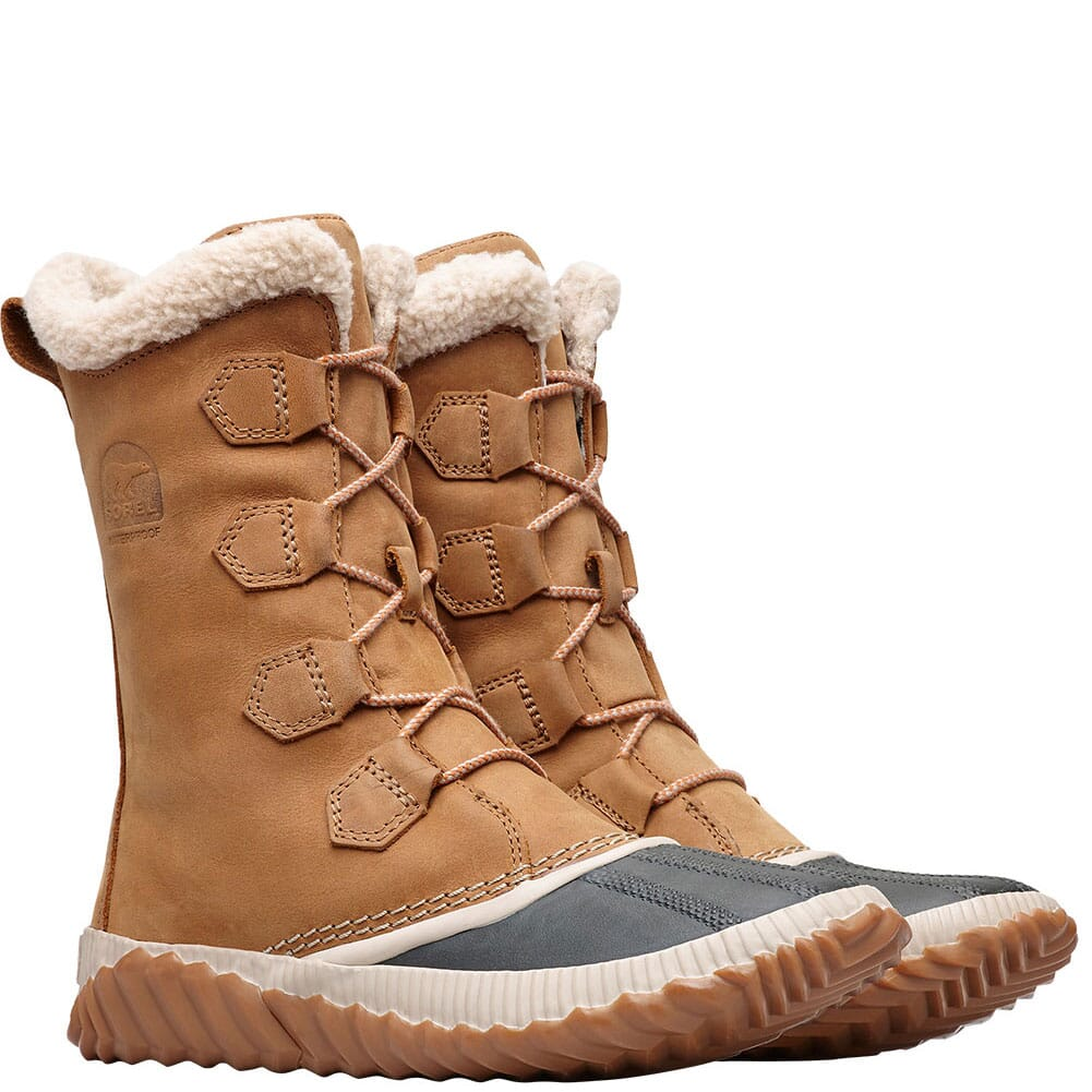 Image for Sorel Women's Out 'N About Plus Tall Duck Boots - Elk from bootbay