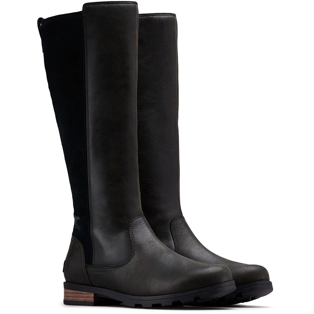 Image for Sorel Women's Emelie Tall Casual Boots - Black from bootbay