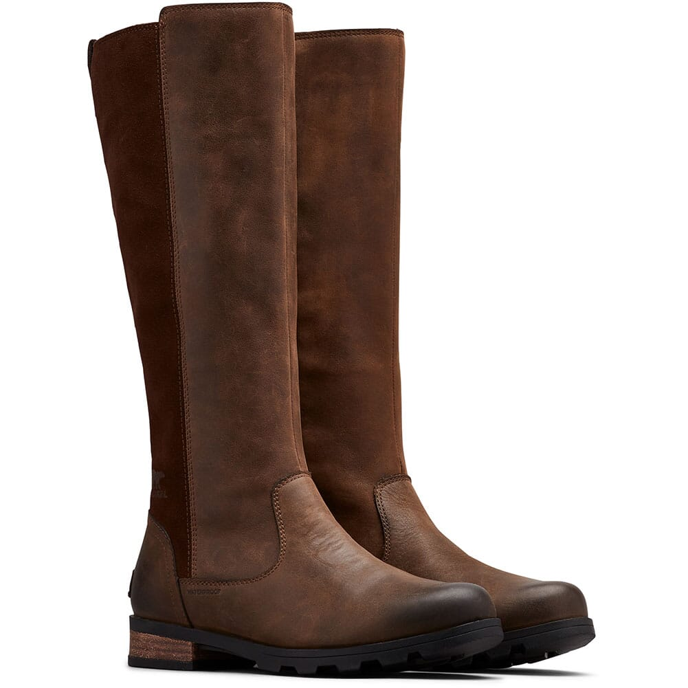 Image for Sorel Women's Emelie Tall Casual Boots - Tobacco from bootbay