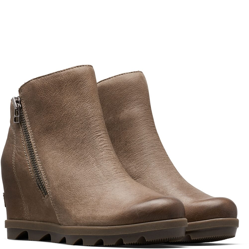 Image for Sorel Women's Joan Artic Wedge II Casual Boots - Ash Brown from bootbay