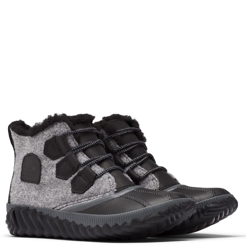 Image for Sorel Women's Out 'N About Plus Boots - Black from bootbay