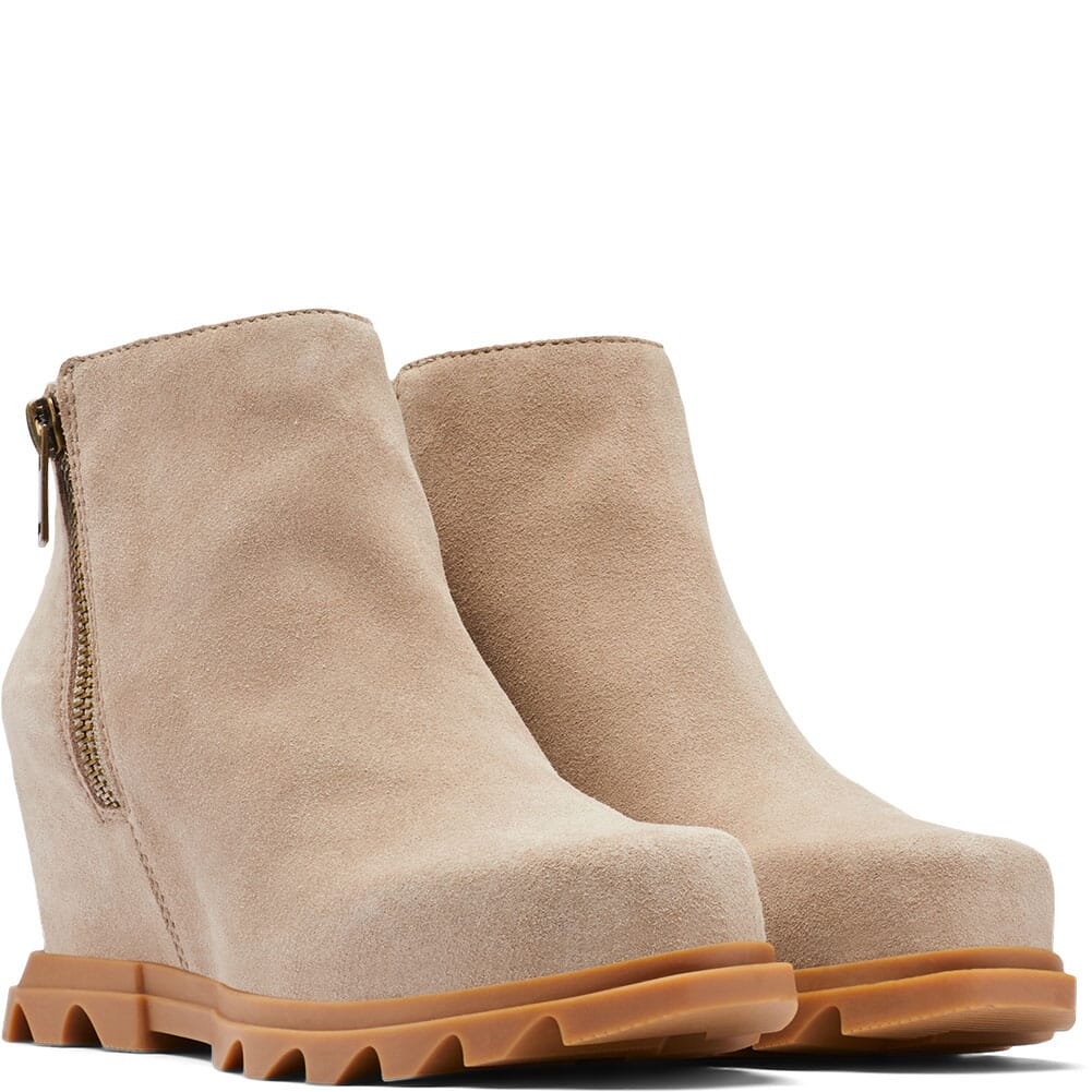 Image for Sorel Women's Joan of Arc Wedge III Casual Boots - Taupe from bootbay