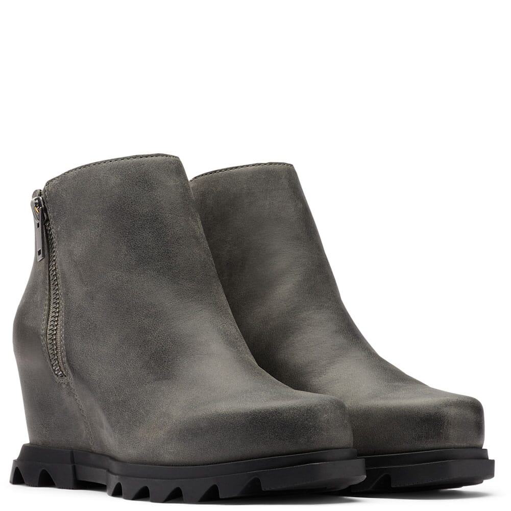 Image for Sorel Women's Joan of Arc Wedge III Casual Boots - Quarry/Black from bootbay