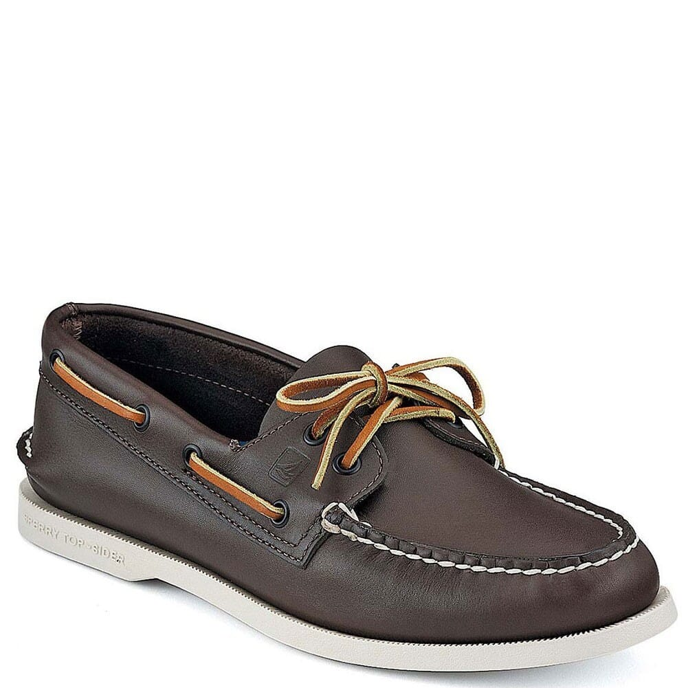Image for Sperry Men's Authentic Original 2-Eye Boat Shoe - Classic Brown from bootbay