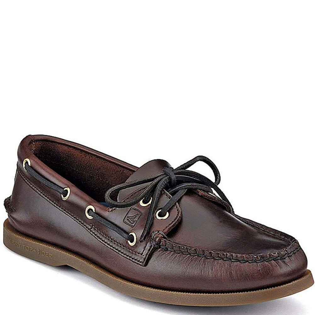 Image for Sperry Men's Authentic Original 2-Eye Boat Shoe - Amaretto from bootbay
