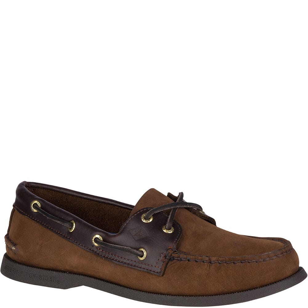 Image for Sperry Men's Authentic Original 2-Eye Boat Shoe - Brown from bootbay
