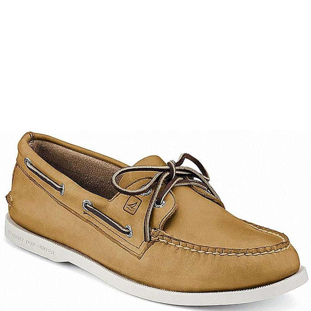 Image for Sperry Men's Authentic Original 2-Eye Boat Shoe - Oatmeal from bootbay