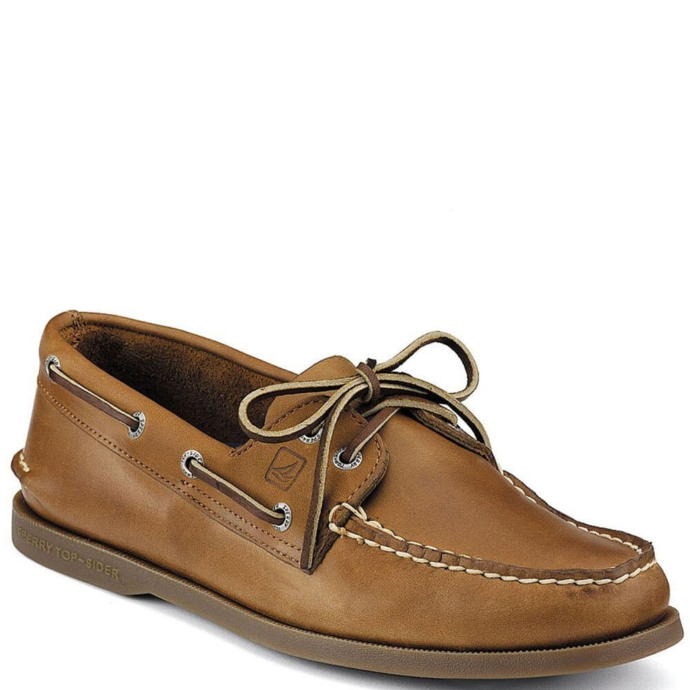 Image for Sperry Men's 2-Eye Casual Boat Shoes - Sahara from bootbay