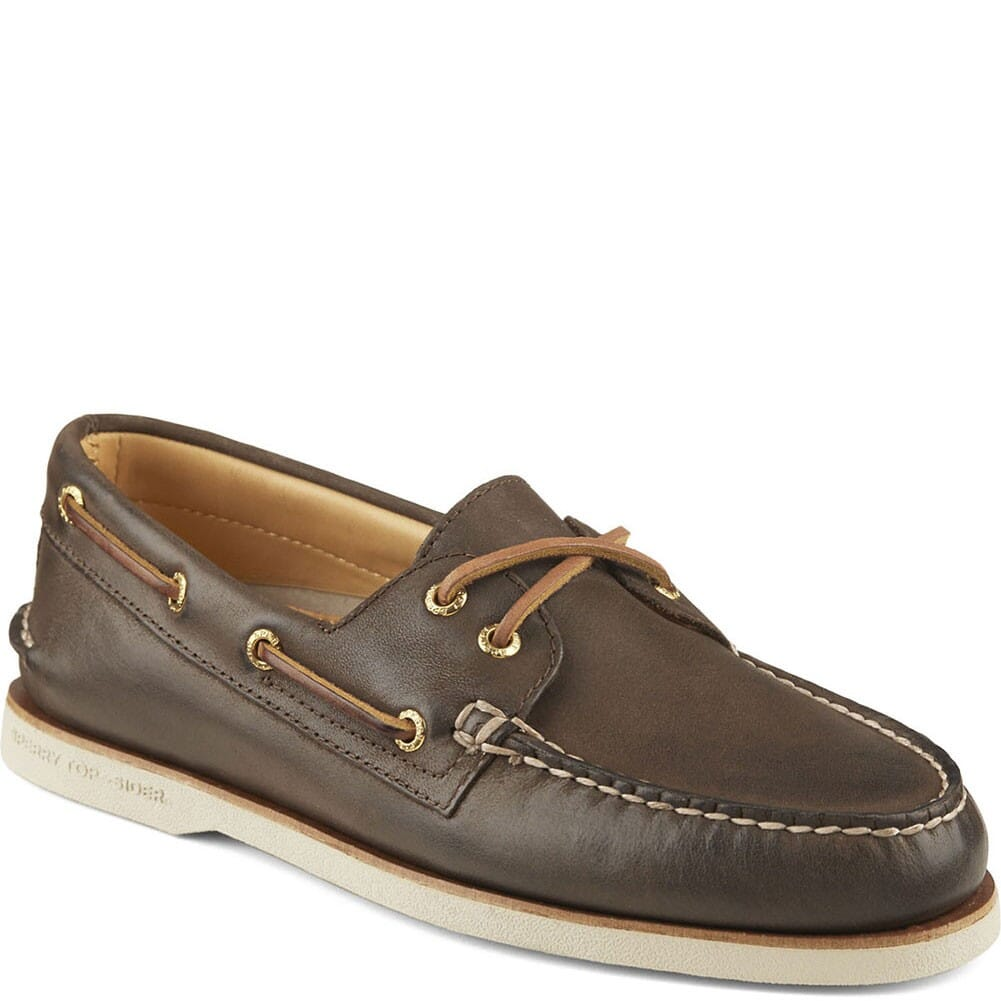 Image for Sperry Men's Gold Cup 2-Eye Boat Shoes - Brown from bootbay