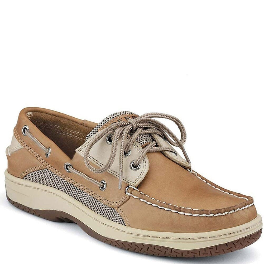 Image for Sperry Men's Billfish 3-Eye Boat Shoes - Tan Beige from bootbay