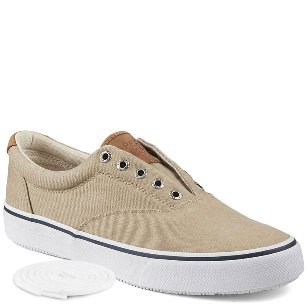 Image for Sperry Men's Striper CVO Sneaker - Chino Salt Washed Twill from bootbay