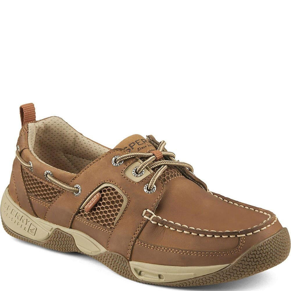 Image for Sperry Men's Sea Kite Sport Moc Casual Shoes - Dark Tan from bootbay