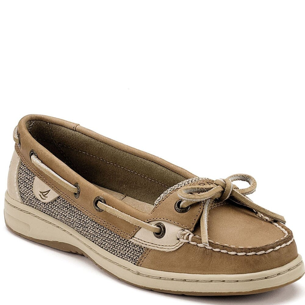 Image for Sperry Women's Angelfish Casual Shoes - Linen Oak from bootbay