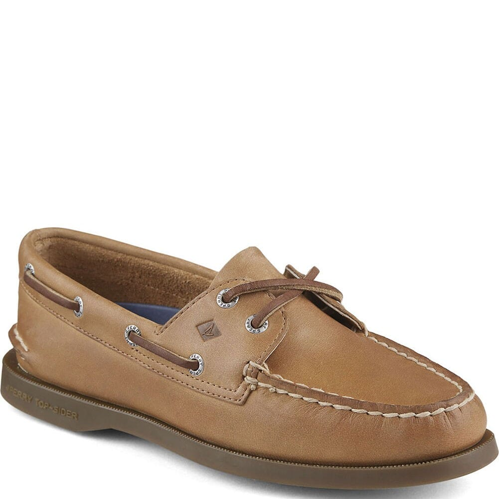 Image for Sperry Women's Authentic Original 2-Eye Boat Shoes - Sahara from bootbay