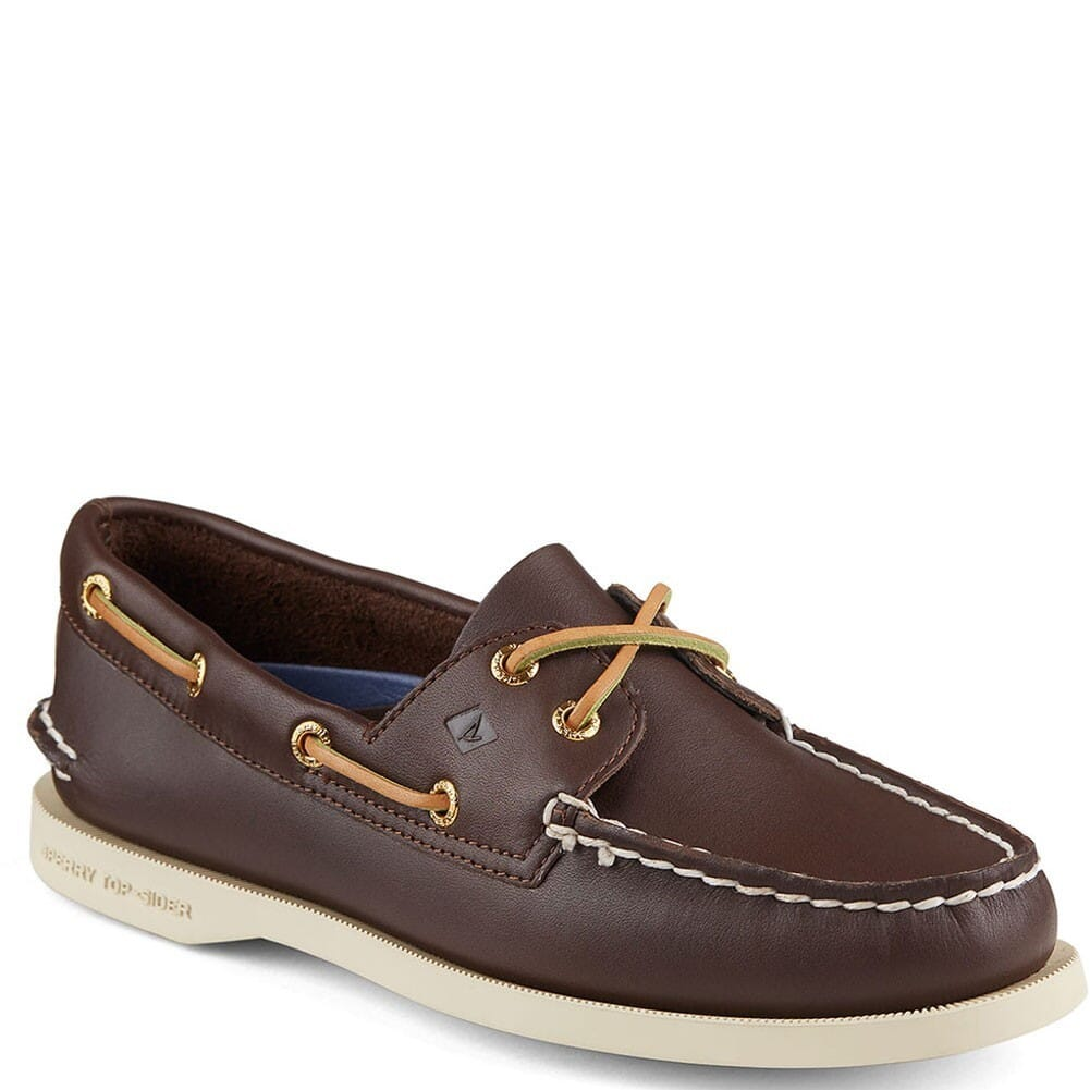 Image for Sperry Women's Authentic Original 2-Eye Boat Shoes - Brown from bootbay