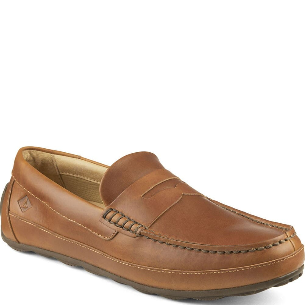 Image for Sperry Men's Hampden Penny Casual Loafer - Tan from bootbay