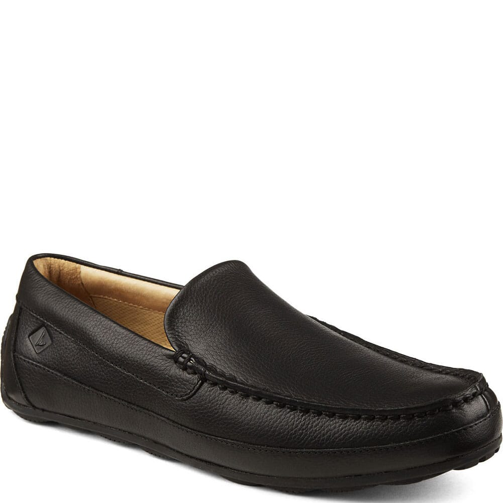 Image for Sperry Men's Hampden Venetian Casual Loafer - Black from bootbay