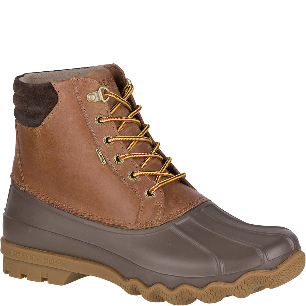 Image for Sperry Men's Avenue Duck Boots - Tan/Brown from bootbay