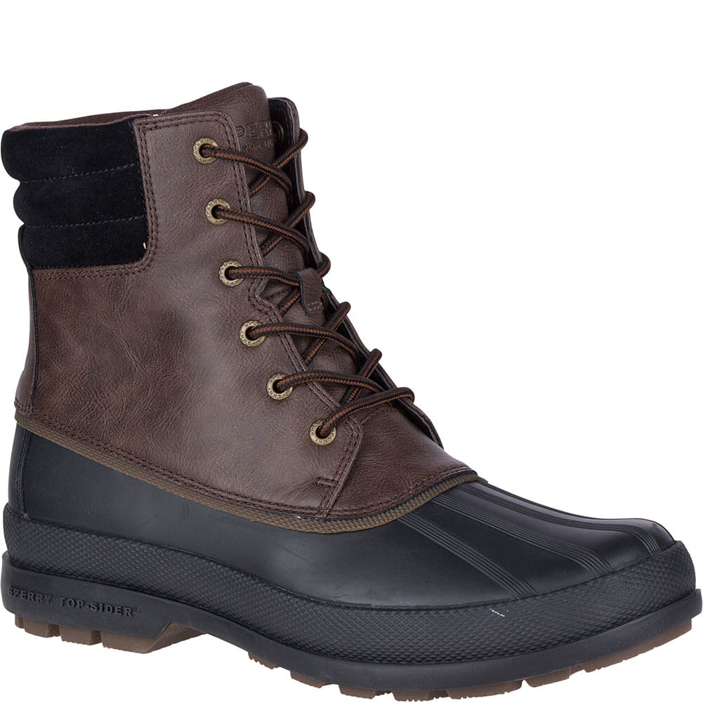 Image for Sperry Men's Cold Bay Pac Boots - Brown/Black from bootbay