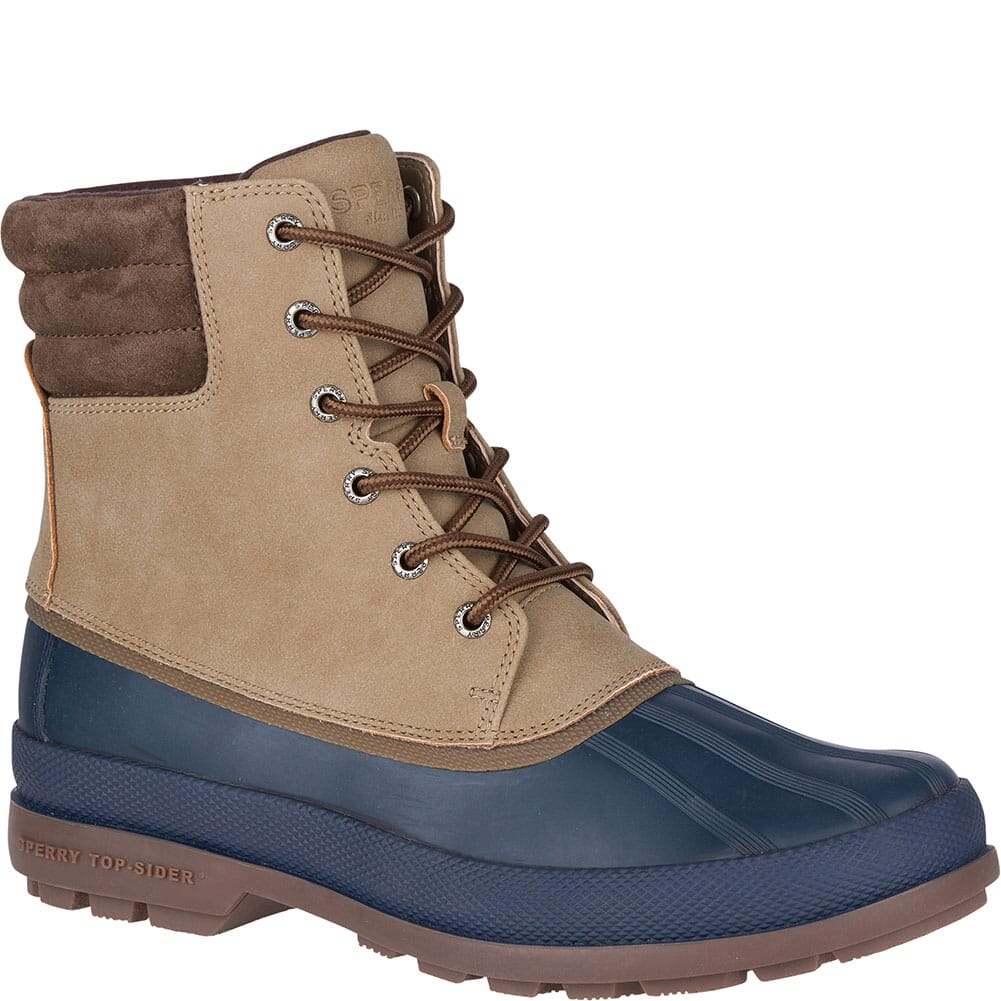 Image for Sperry Men's Cold Bay Pac Boots - Taupe/Navy from bootbay