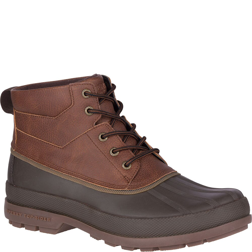 Image for Sperry Men's Cold Bay WP Pac Boots - Brown/Coffee from bootbay